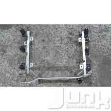 Топливная рейка (рампа) для Audi A6 (C5) 1997-2004 oe 078133681AJ разборка бу