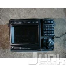 Магнитола (command) для Mercedes Benz W220 S-Klasse 1998-2005 oe A2208204889 разборка бу