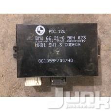 Блок управления парктрониками oe 66216904023 разборка бу