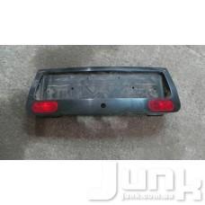 Рамка номера с подсветкой для Audi A6 (C5) 1997-2004 oe 4B0945695D разборка бу