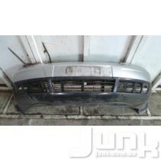 Решетка бампера центральная для Audi A6 (C5) 1997-2004 oe  разборка бу