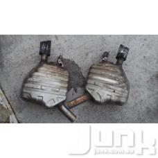 Банка глушителя для Audi A6 C7
