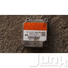 блок управления airbag oe A2118209485 разборка бу