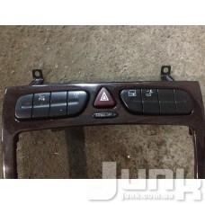 Блок кнопок передней панели для Mercedes Benz W203 C-Klasse 2000-2007 oe A2038214758 разборка бу