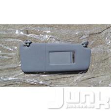 Козырек солнцезащитный правый для Audi A6 (C5) 1997-2004 oe 4B0857552 разборка бу