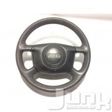 Руль 4 спицы под airbag для Audi A6 (C5) 1997-2004 oe 4B0419091 разборка бу