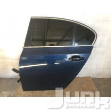 Дверь задняя левая для BMW 5-серия E60/E61 2003-2009 oe 41527202341 разборка бу