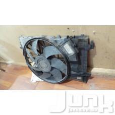Диффузор радиатора охлаждения, в сборе с мотором для Мерседес W203 Ц-класс oe A2035000193 разборка бу