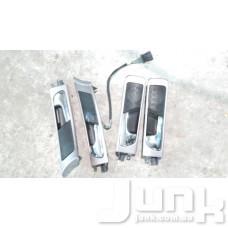 Ручка двери передней правой для Audi A6 (C5) 1997-2004 oe 4B0837020 разборка бу