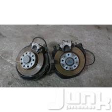 Тормозной диск задний для Audi A4 (B6) 2000-2004 oe  разборка бу