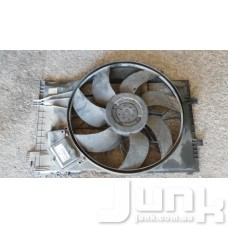 Диффузор радиатора охлаждения, в сборе с мотором oe A2035000193 разборка бу