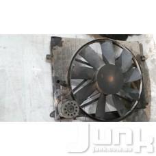 Вентилятор охлаждения двигателя в сборе (мотор крыльчатка) oe A2205000093 разборка бу