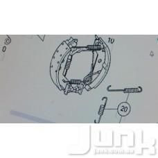 Ремкомплект колодок тормозных задних oe A1684210090 разборка бу