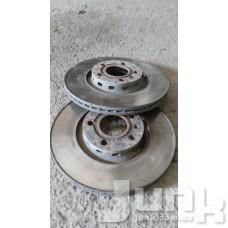 Тормозной диск передний для Audi A6 (C5) 1997-2004 oe  разборка бу