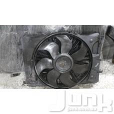 Вентилятор охлаждения двигателя в сборе (мотор крыльчатка) oe A2045000393 разборка бу