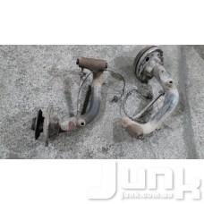 Тормозная скоба задняя слева (ступица) oe A1684200415 разборка бу