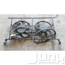 Вентилятор охлаждения двигателя в сборе (мотор крыльчатка) oe  разборка бу