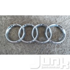 Эмблема решетки радиатора (значок) для Audi A6 (C5) 1997-2004 oe 8D0853605 разборка бу
