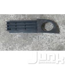 Решетка бампера правая для Audi A6 (C5) 1997-2004 oe 4B0807682AA разборка бу