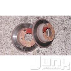 Тормозной диск задний oe 4A0615601A разборка бу