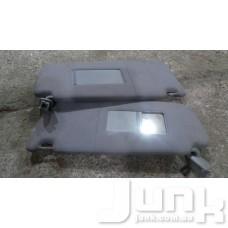 Козырек солнцезащитный левый для Audi A6 (C5) 1997-2004 oe 4B0857551 разборка бу