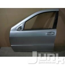 Дверь передняя левая для Mercedes Benz W220 S-Klasse 1998-2005 oe A2207200105 разборка бу