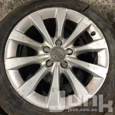 Audi OEM 4G0601025AG 8x17 5x112 ET39 DIA66,6 (silver) Б/У