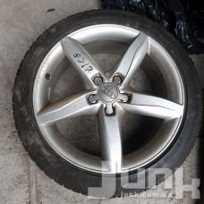 Audi OEM 8K0601025D 8x18 5x112 ET47 DIA66,6 (silver) Б/У