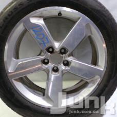 Audi OEM 8R0601025J 8x19 5x112 ET39 DIA66,6 (silver) Б/У