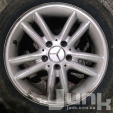 Mercedes OEM A2034010202 7x16 5x112 ET37 DIA66,6 (silver) Б/У