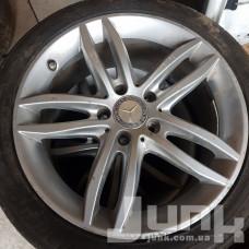 Mercedes OEM A2044017902 8,5x17 5x112 ET58 DIA66,6 (silver) Б/У
