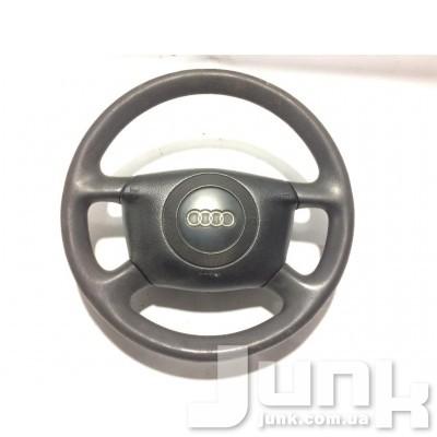 Подушка безопасности руля airbag для Audi A6 (C5) 1997-2004 oe 4B0880201Q разборка бу