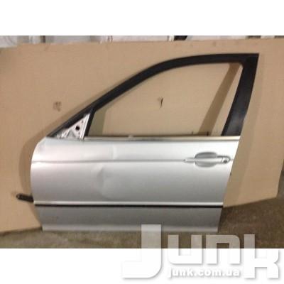 Стекло двери передней лев. для BMW 3-серия E46 1998-2005 oe 51338196025 разборка бу