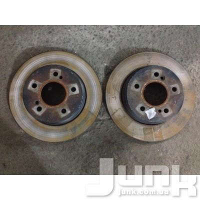 Диск тормозной задний для W203 C-Klasse 2000-2007 Б/У oe A2034230112 разборка бу