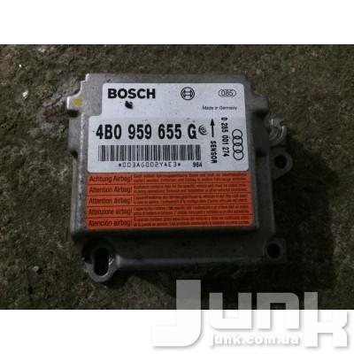 блок управления airbag для A6 C5 Б/У oe 4B0959655G разборка бу