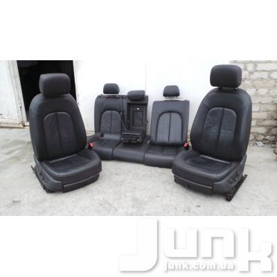 Сиденье комплект (переднее 2шт + заднее) для Audi A6 C7 oe  разборка бу