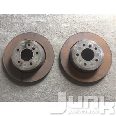 Тормозной диск задний для E60 Б/У oe 34216864061 разборка бу