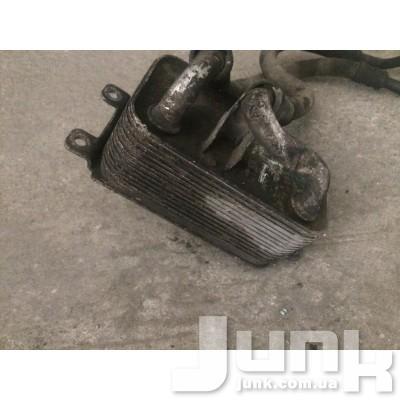 Трубопровод масляного радиатора возврат для BMW E60 oe 17227573107 разборка бу
