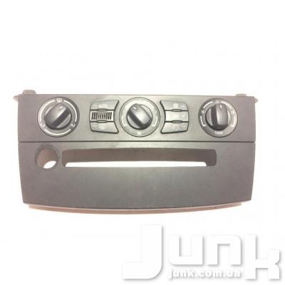 Блок управления кондиционером для BMW E60 oe 64116946979 разборка бу