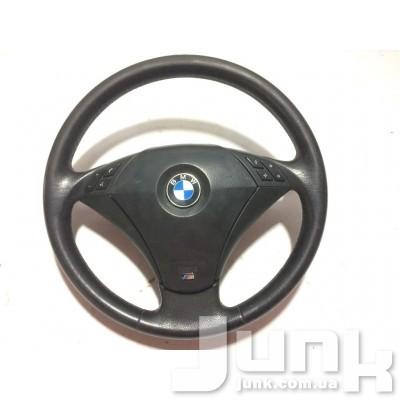 Руль в сборе для BMW E60 oe  разборка бу