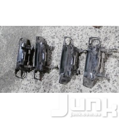 Ручка двери задней наружная левая для Audi A6 C6 oe 4F0837207 разборка бу
