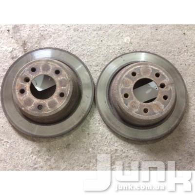 Тормозной диск задний для E36 Б/У oe 34216767049 разборка бу
