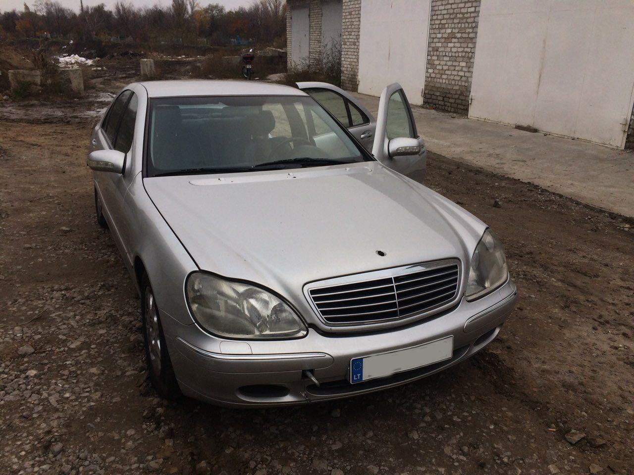 Запчасти Mercedes W220 разборка мерседес W220